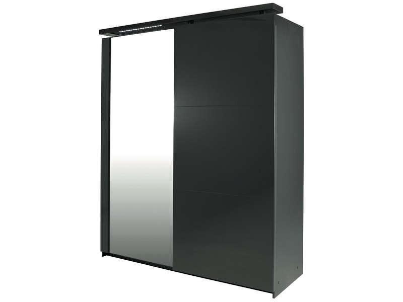 Armoire blanc laqu conforama armoire id es de for Armoire de bureau conforama