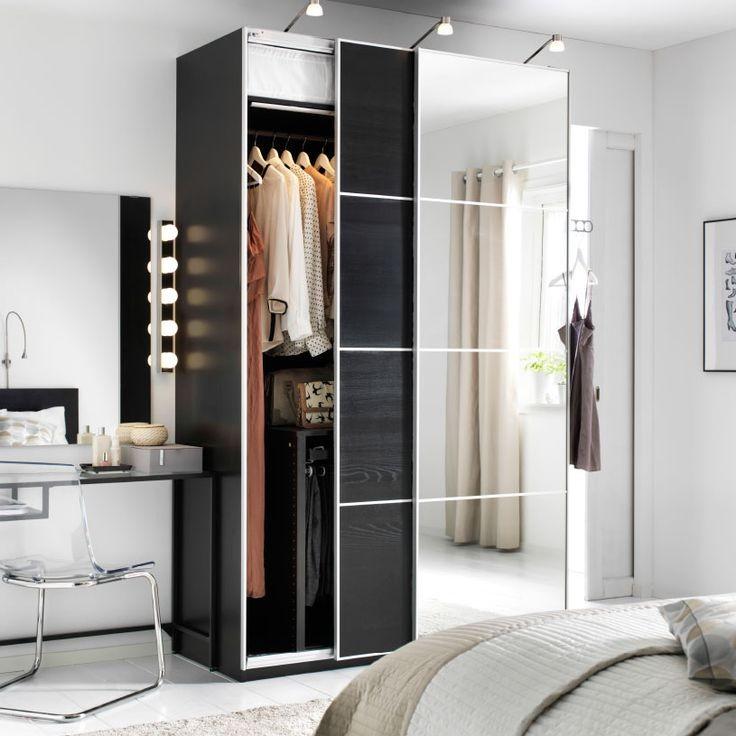 Armoire Blanche Porte Coulissante Ikea