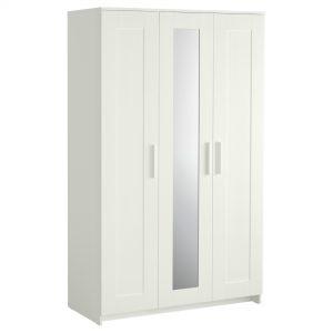Armoire Blanche Portes Coulissantes Ikea