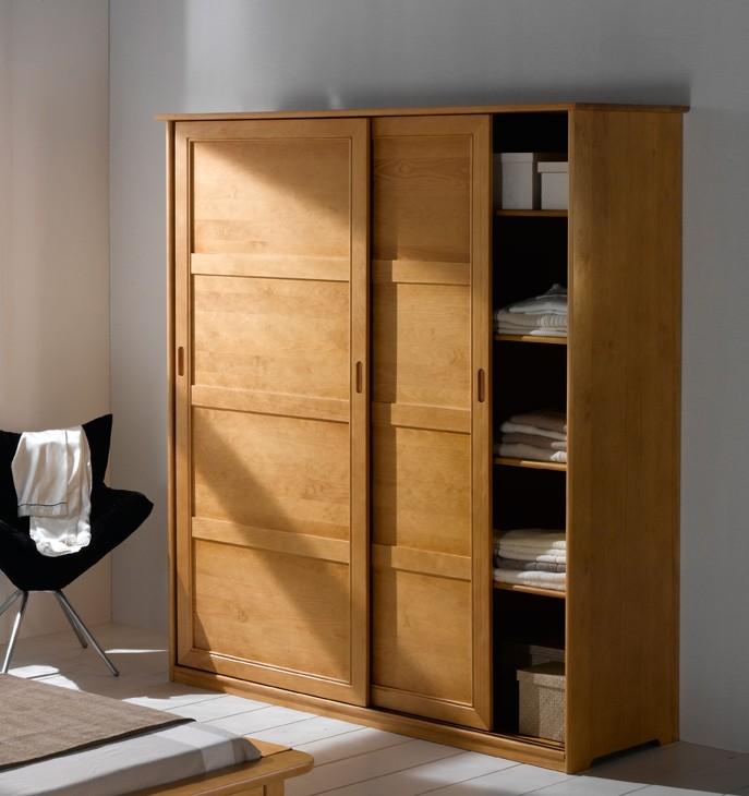 Armoire Chambre A Coucher Porte Coulissante - Armoire : Idées de ...