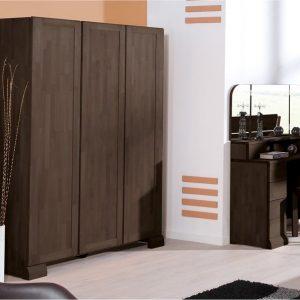 Armoire chambre coucher bois massif armoire id es de d coration de maison yvbr0apl26 for Chambre bois massif adulte