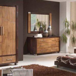 Chambre Bois Exotique | Mobilier & Décoration