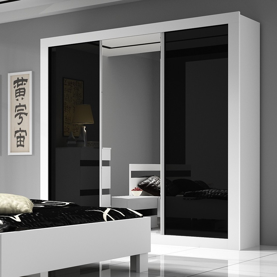 Armoire Coulissante Blanche Design