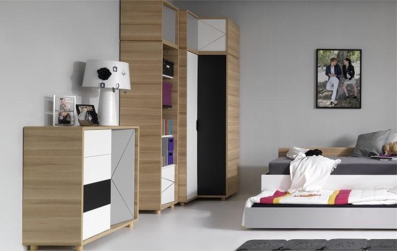 Armoire d 39 angle chambre coucher armoire id es de for Armoire angle chambre