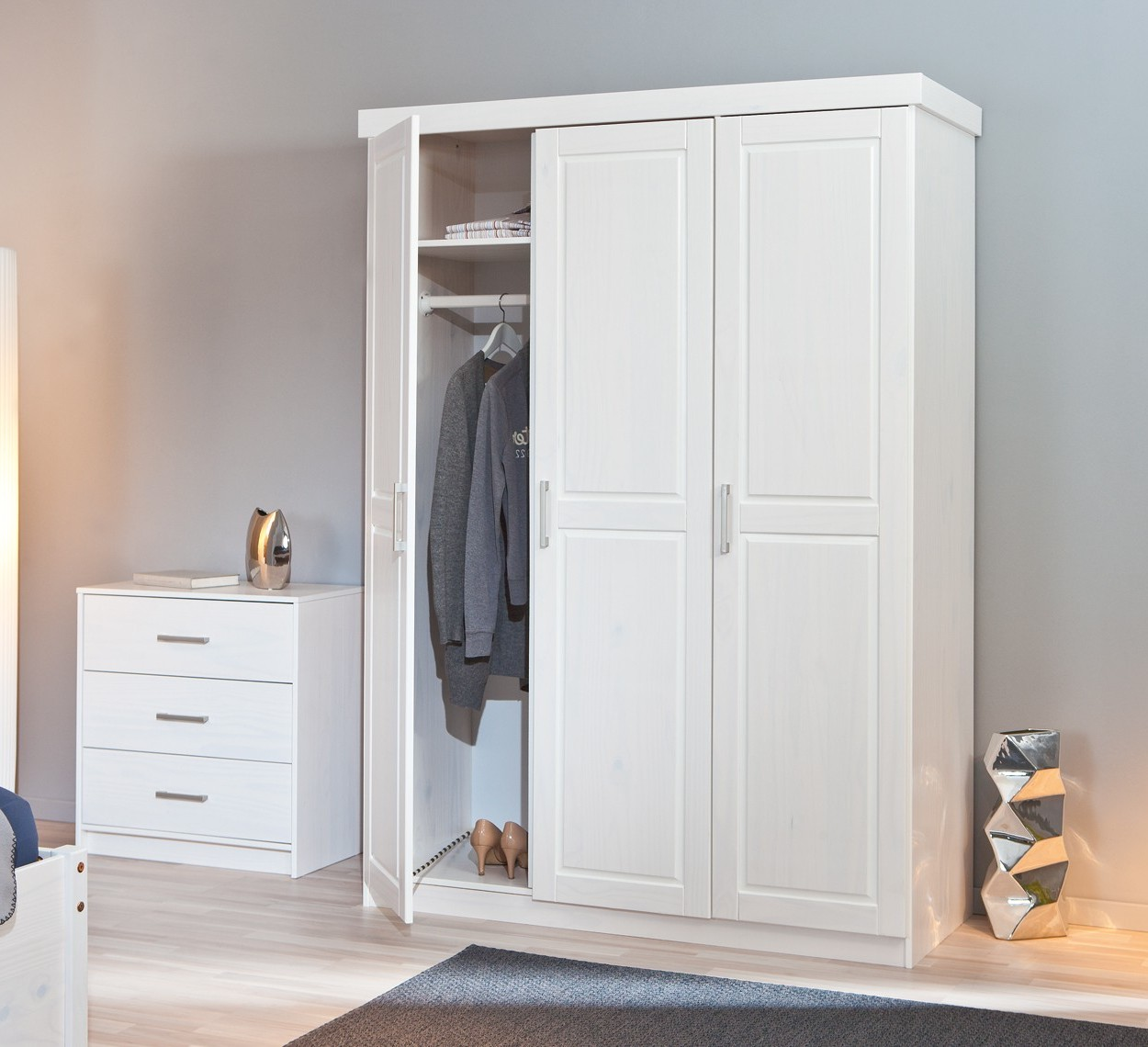 Armoire De Chambre Blanc