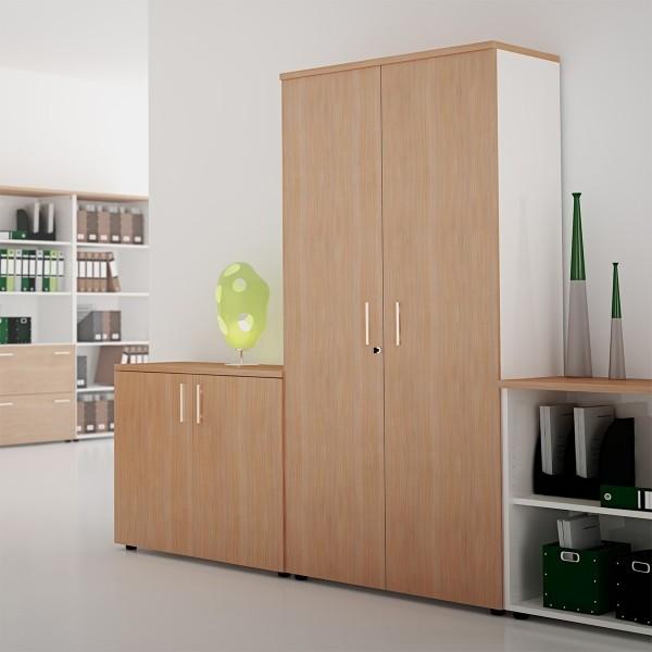 Armoire de rangement bureau en bois armoire id es de Armoire bureau rangement