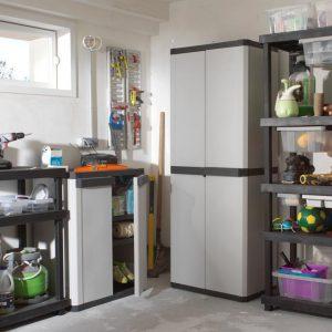 Armoire rangement plastique garage armoire id es de - Armoire en plastique pour garage ...