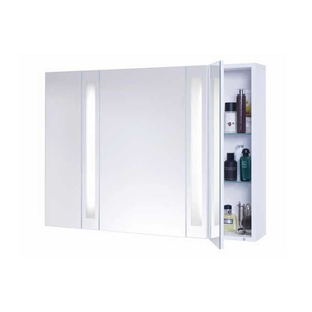 Armoire De Toilette Avec Miroir Et éclairage Ikea