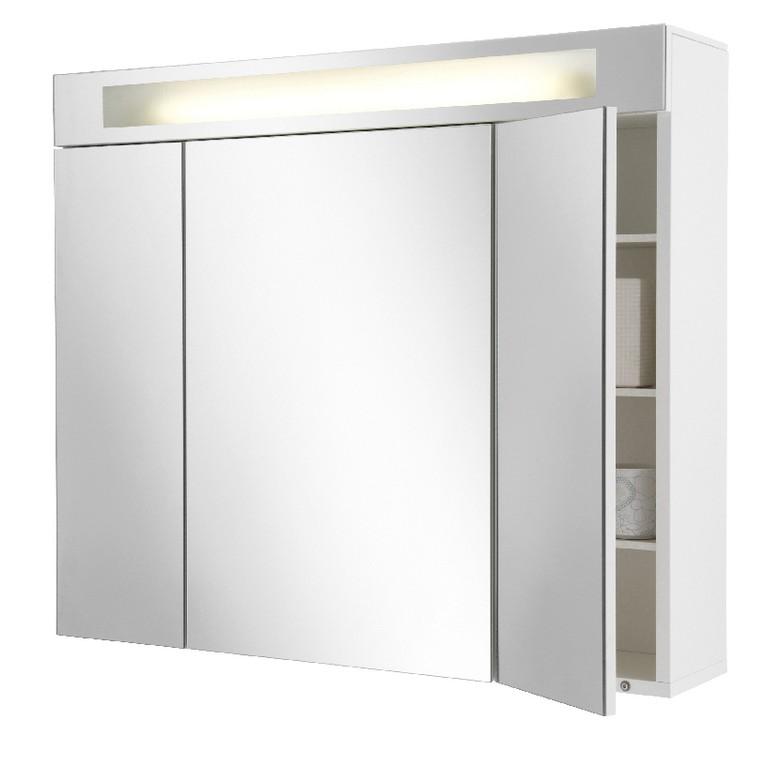 Armoire de toilette avec miroir triptyque armoire for Armoire de toilette miroir ikea