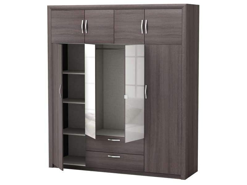 Fabulous armoire en angle conforama with armoire d angle conforama - Dressing d angle conforama ...