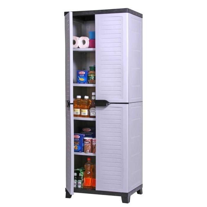 Armoire Haute Resine H181xl65xp45 Cm