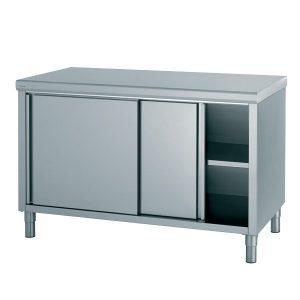 Armoire inox pour cuisine armoire id es de d coration for Armoire cuisine inox