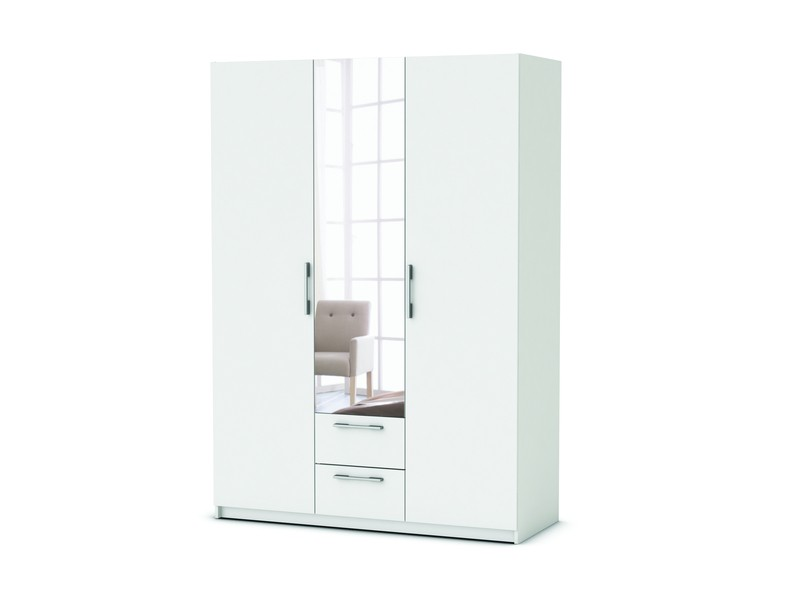 Penderie conforama great penderie metal conforama u for Armoire penderie blanc conforama