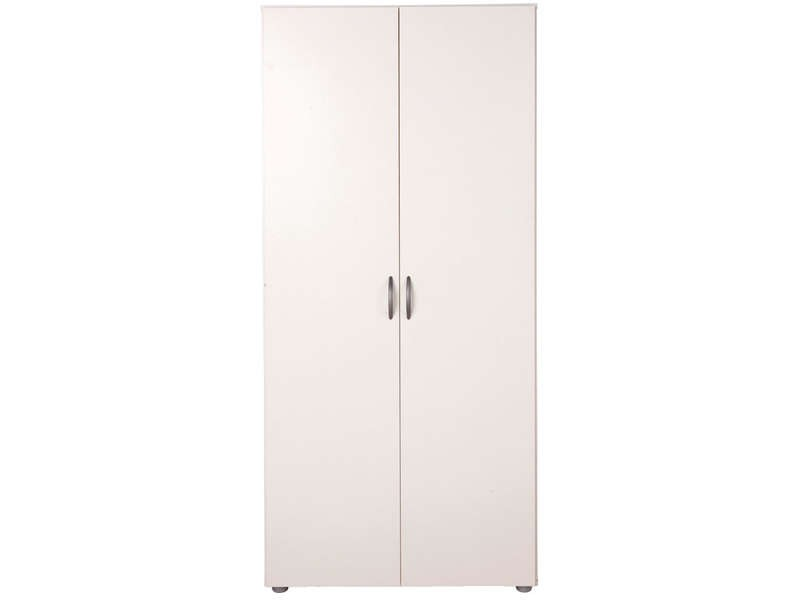 Armoire penderie blanc conforama armoire id es de for Armoire bois conforama