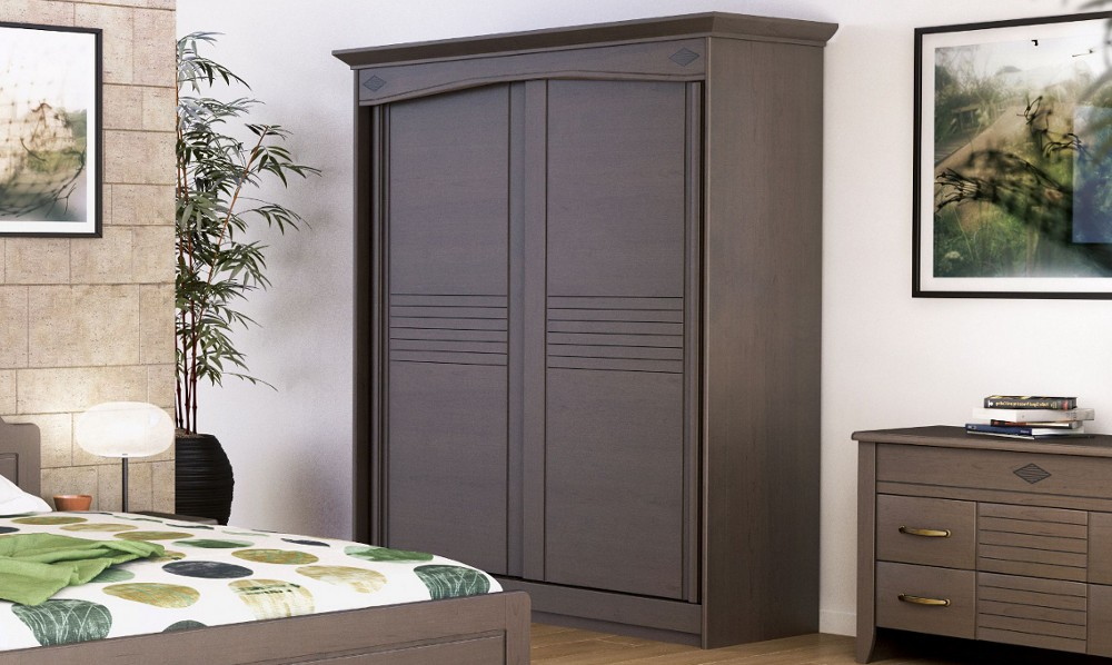 Armoire Penderie Couleur Taupe