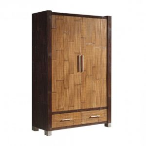 armoire en rotin bambou armoire id es de d coration de. Black Bedroom Furniture Sets. Home Design Ideas
