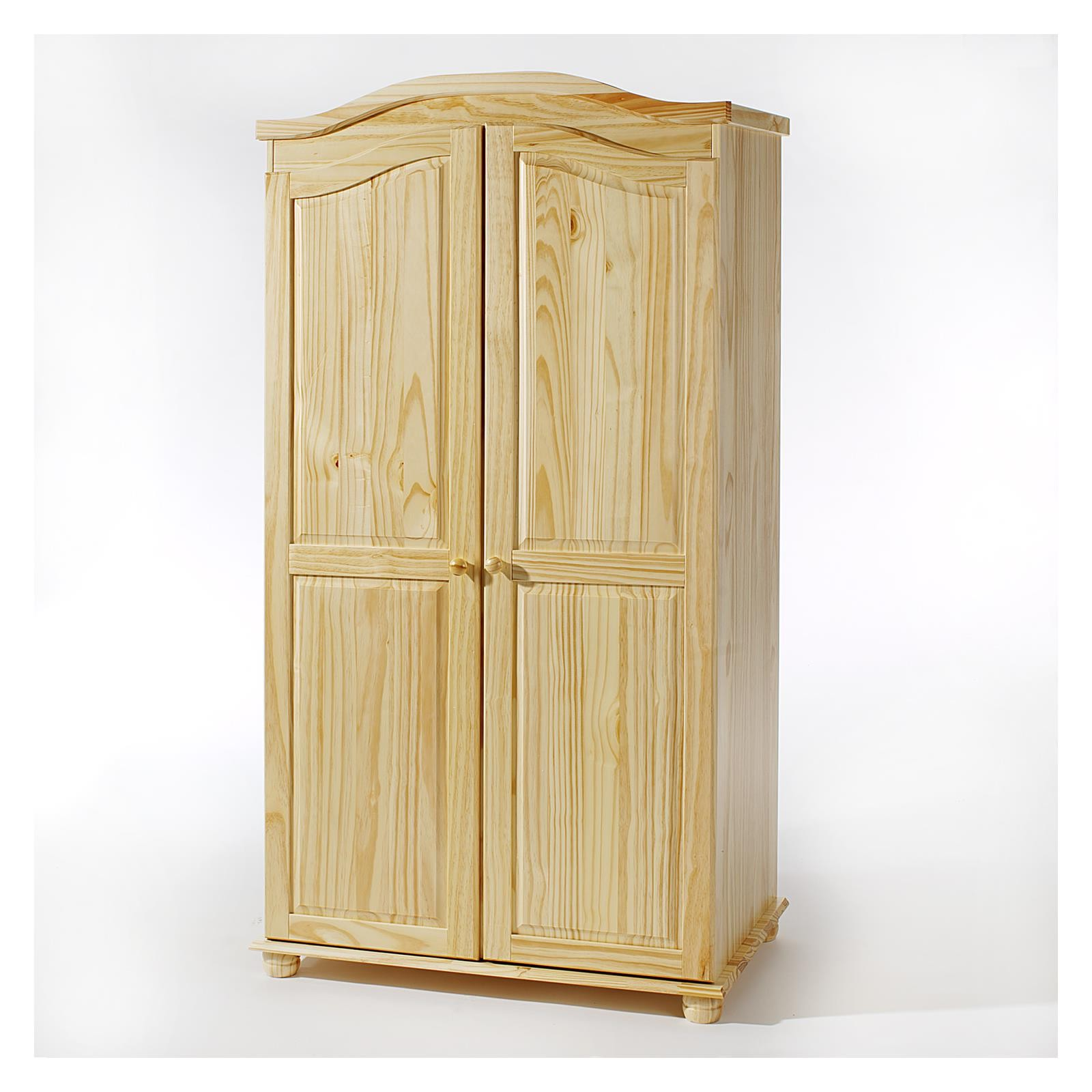 armoire penderie en pin massif armoire id es de. Black Bedroom Furniture Sets. Home Design Ideas