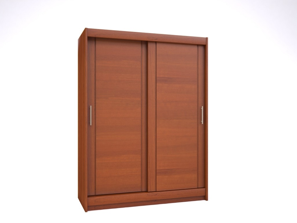 Good armoire penderie porte coulissante with armoire porte for Meuble informatique porte coulissante