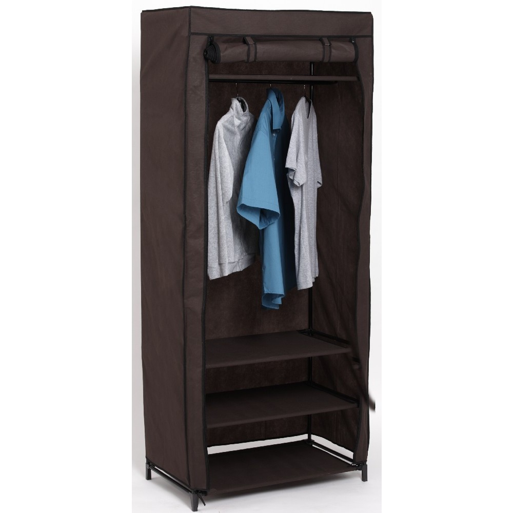 armoire penderie tissu en bois armoire id es de. Black Bedroom Furniture Sets. Home Design Ideas