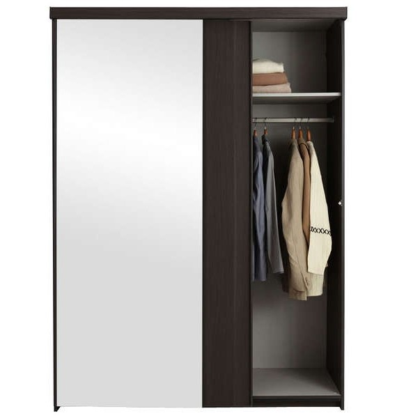 armoire porte coulissante avec miroir conforama armoire. Black Bedroom Furniture Sets. Home Design Ideas
