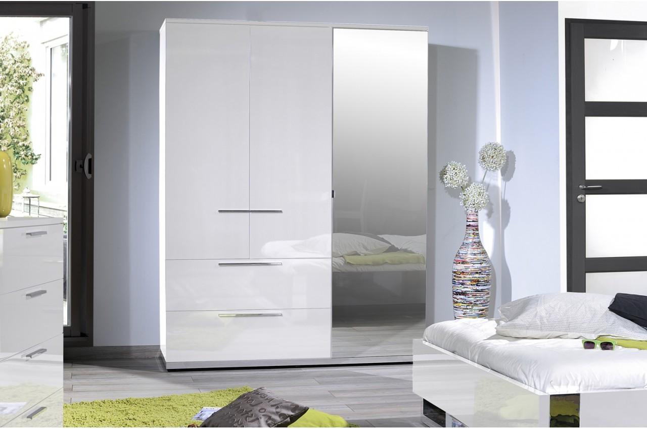 Armoire Porte Coulissante Blanc