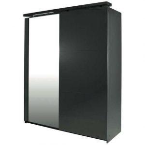 Conforama armoire 2 portes armoire portes memphis iii for Meuble porte coulissante conforama