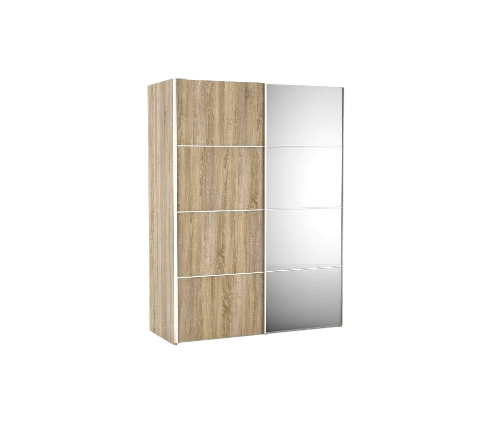 Armoire porte coulissante miroir but armoire id es de for Idee decoration porte coulissante