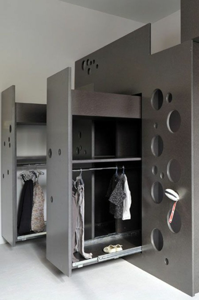 armoire rangement chambre armoire chambre d ado 45 bar. Black Bedroom Furniture Sets. Home Design Ideas