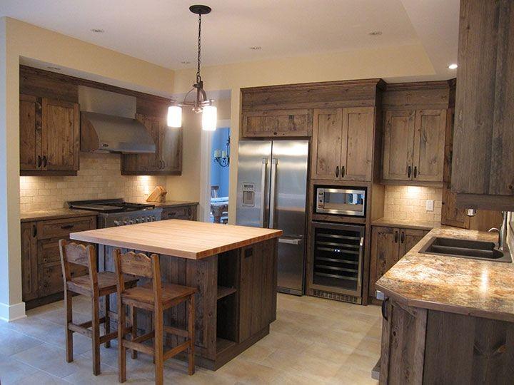Armoires de cuisine en pin armoire id es de d coration for Armoire de cuisine en pin
