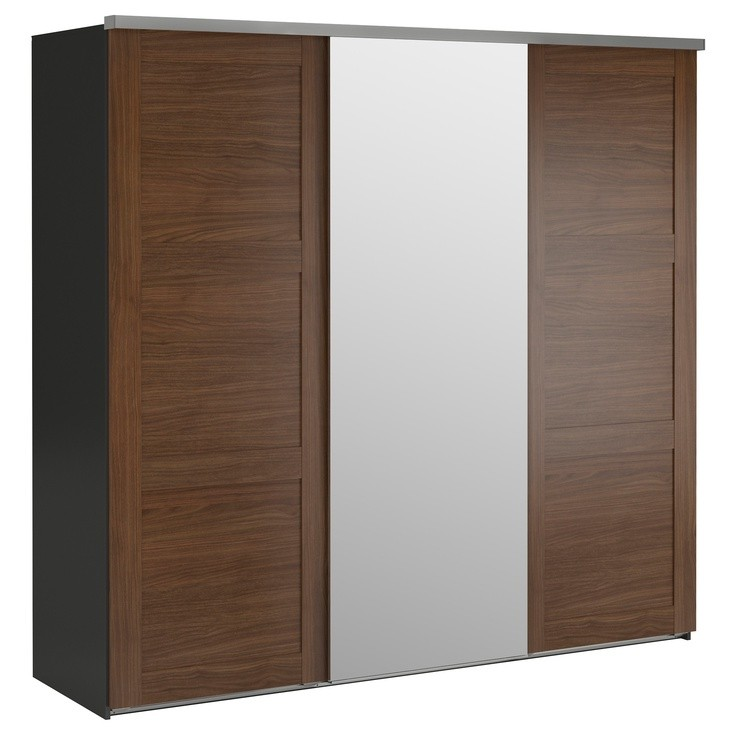 ikea armoire dressing 3 portes armoire id es de. Black Bedroom Furniture Sets. Home Design Ideas