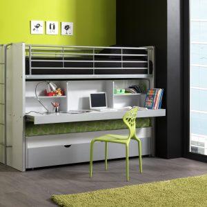 Combine lit mezzanine armoire bureau armoire id es de - Lit bureau armoire combine ...