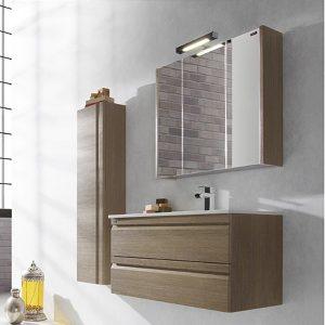 Meuble armoire d 39 angle salle de bain armoire id es de for Armoire pour salle de bain