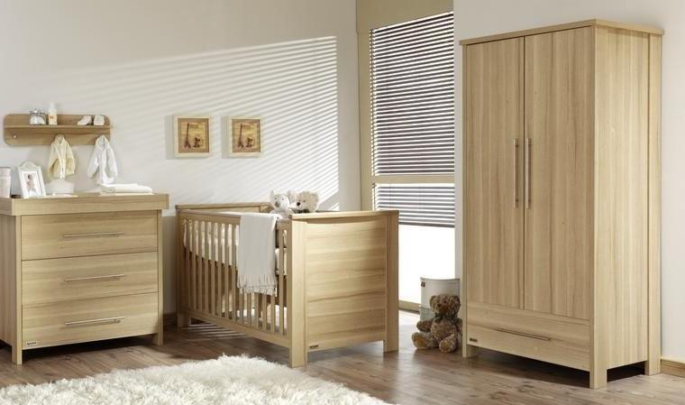 Meuble chambre b b bois massif armoire id es de - Chambre bebe bois massif ...
