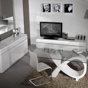 Meuble Salle A Manger Design Blanc