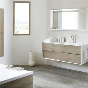 Meuble de salle de bain leroy merlin remix salle de bain - Meuble salle de bain rouge ikea ...