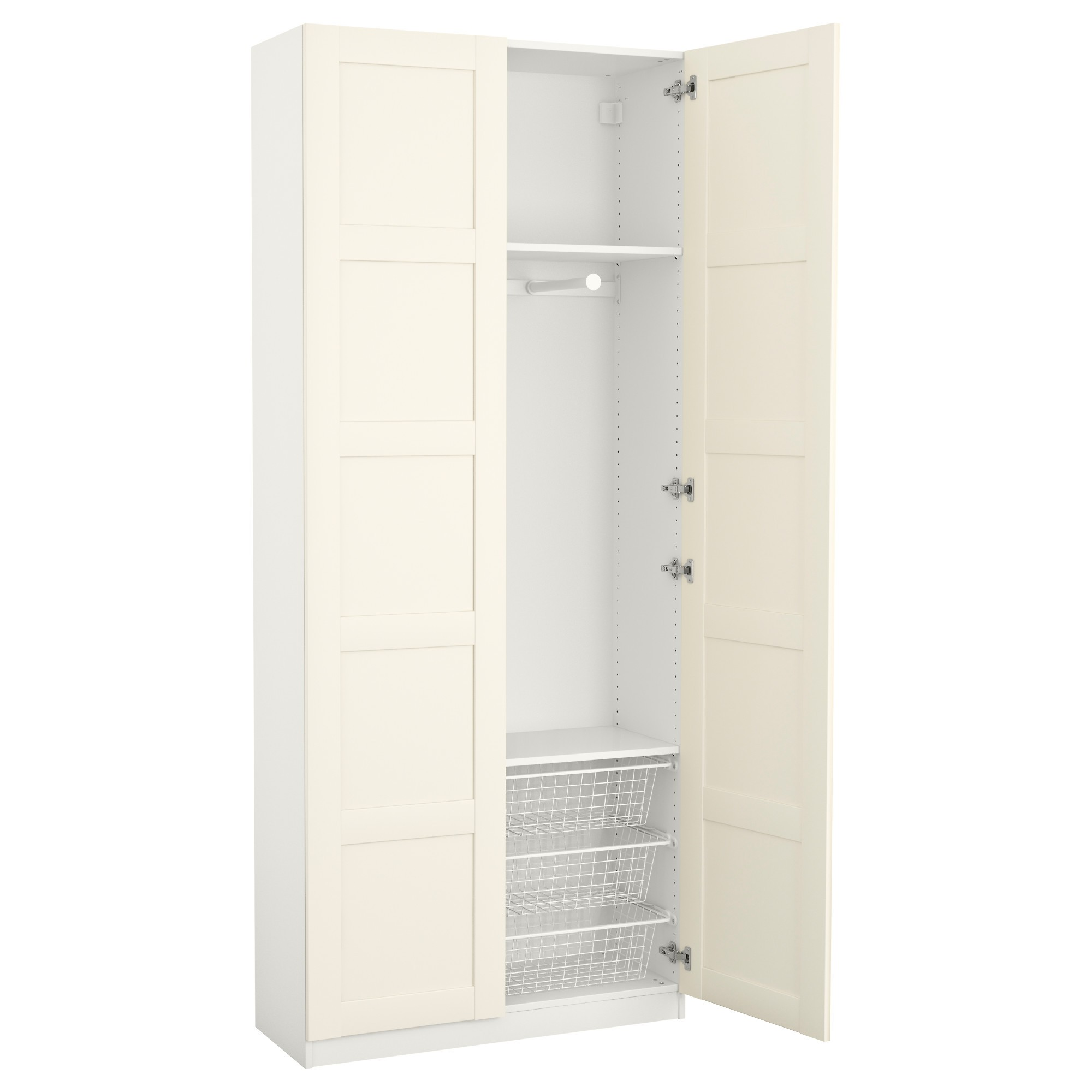 interesting armoire portes blanche ikea with armoire angle ikea. Black Bedroom Furniture Sets. Home Design Ideas