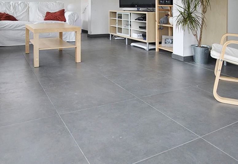 Carrelage 60 x 60 gris clair carrelage id es de for Carrelage gris clair brillant