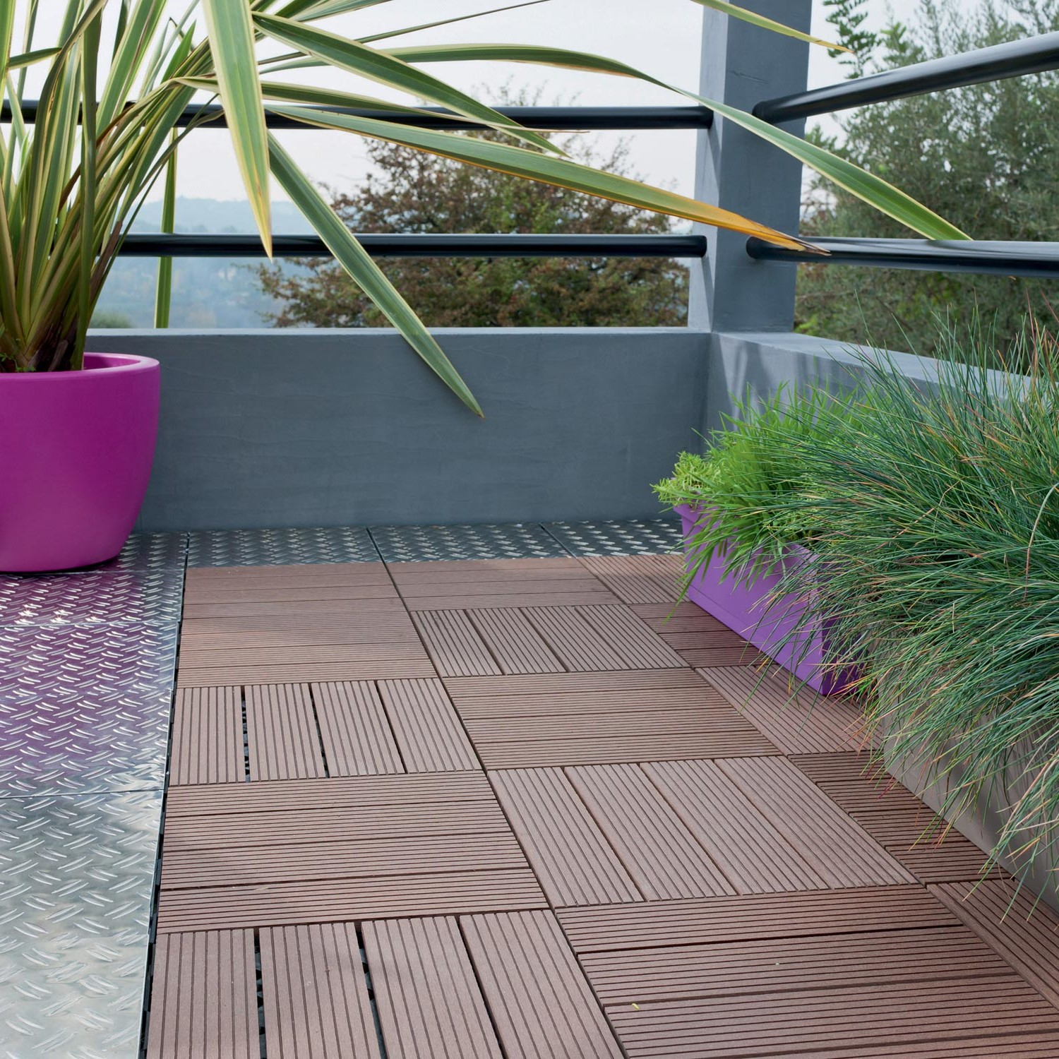 Carrelage clipsable pour balcon carrelage id es de for Carrelage balcon