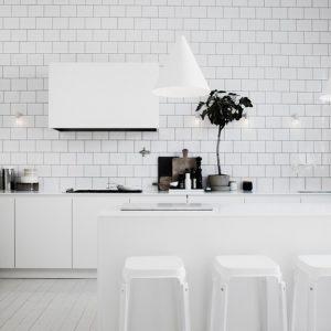 Carrelage Crédence Cuisine Blanc