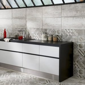 Carrelage mural cuisine 10x10 blanc carrelage id es de - Carrelage 10x10 blanc ...