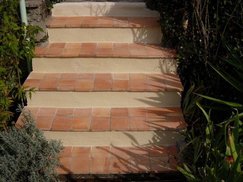 Carrelage Escalier Exterieur Terre Cuite
