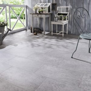 Carrelage effet beton gris clair carrelage id es de for Carrelage exterieur gris