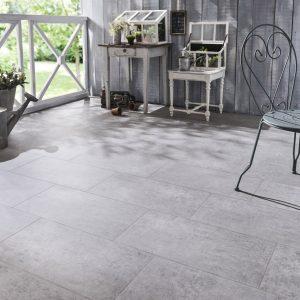 Carrelage effet beton gris clair carrelage id es de for Carrelage exterieur gris clair