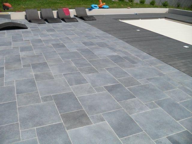 Carrelage exterieur gris pour piscine carrelage id es de d coration de maison gvnz292nqa - Carrelage piscine gris ...