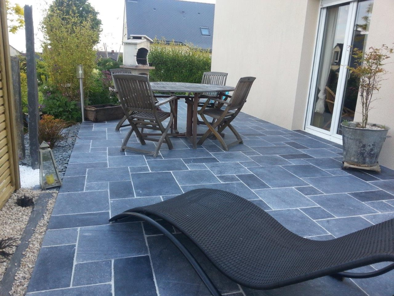 Carrelage exterieur imitation bleue 28 images for Carrelage terrasse