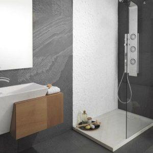 Tapis salle de bain grand format salle de bain id es for Carrelage salle de bain grand format