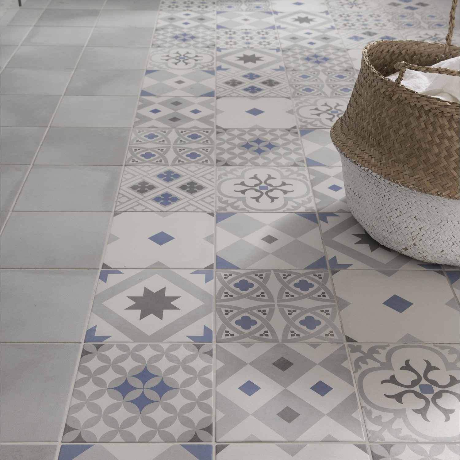 Carrelage imitation pierre bleue leroy merlin carrelage for Carrelage imitation pierre
