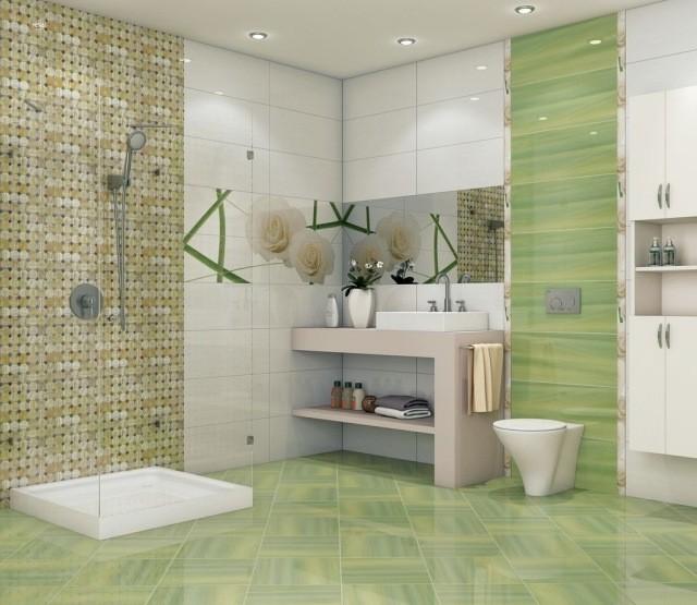 Carrelage Mosaique Vert Anis