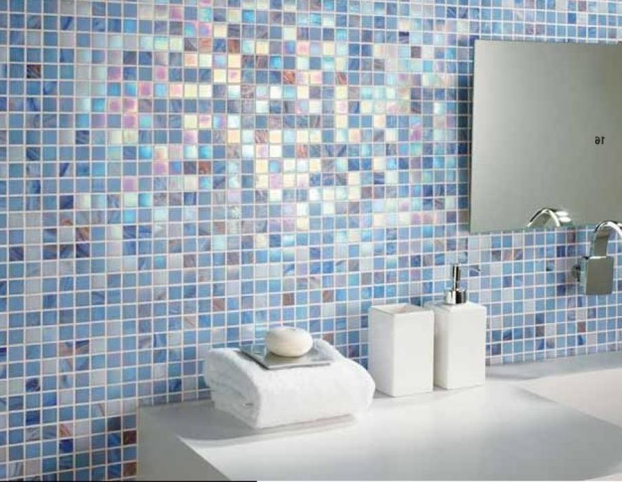 Carrelage Mural 15x15 Bleu