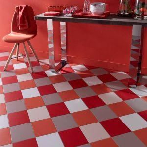 Carrelage mural rouge cuisine carrelage id es de for Carrelage mural rouge cuisine